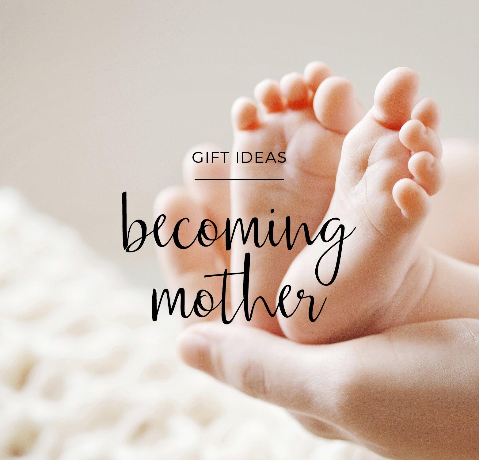 Geschenk für eine frischgebackene Mutter: Etwas Anderes als Milchfläschchen…