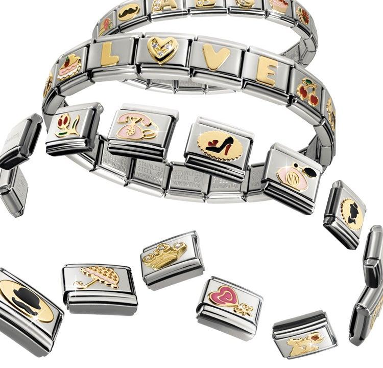 Como montar la pulsera Nomination y personalizar tu proprio reloj