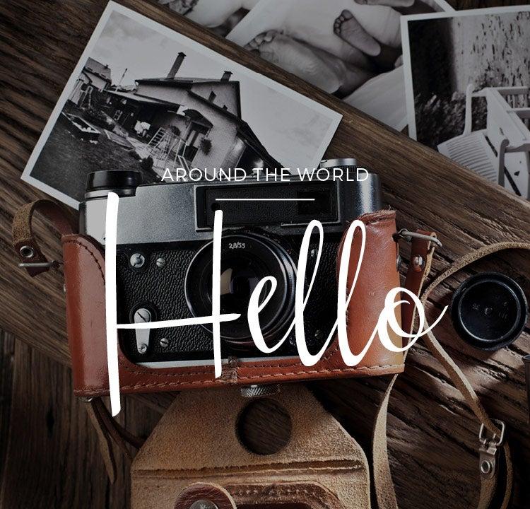 ¡Hola! En todo los idiomas del mundo