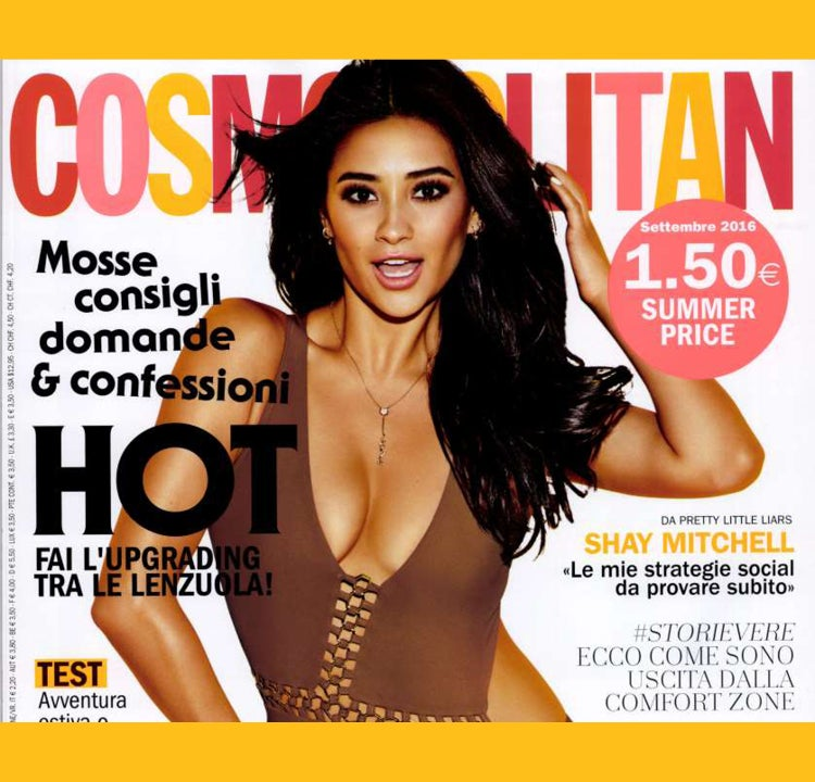COSMOPOLITAN ITALY- Angel Collection
