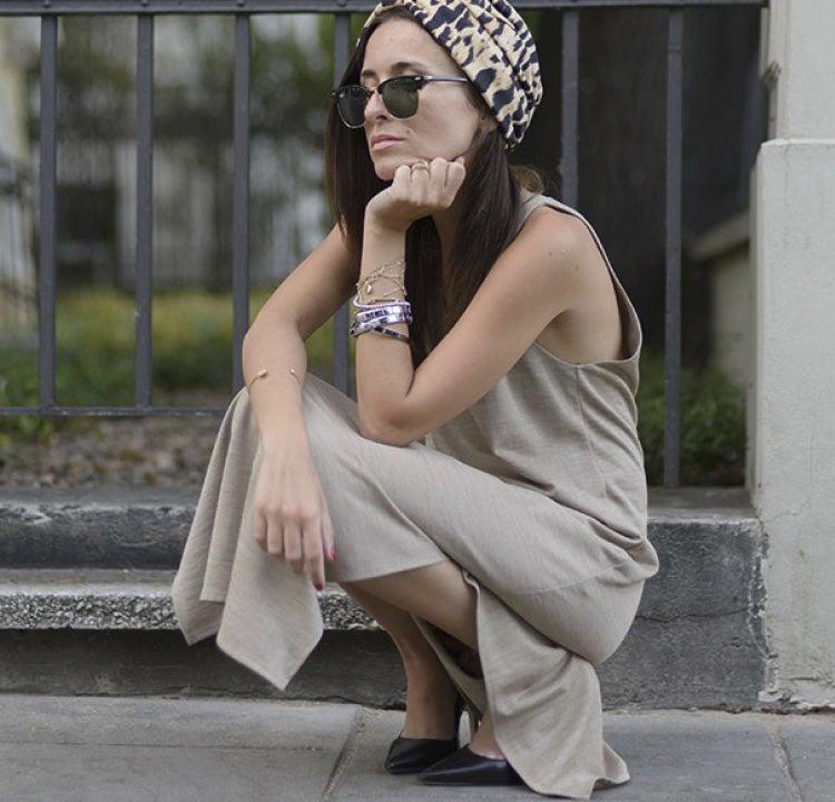 The fashion blogger Kinga wears Composable