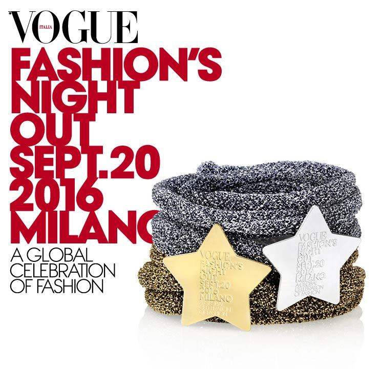 Nomination à la Vogue's Fashion Night Out 2016