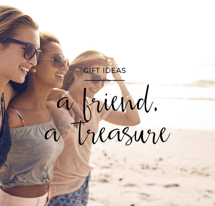 Whoever finds a friend, finds a treasure: a gift for your best friend