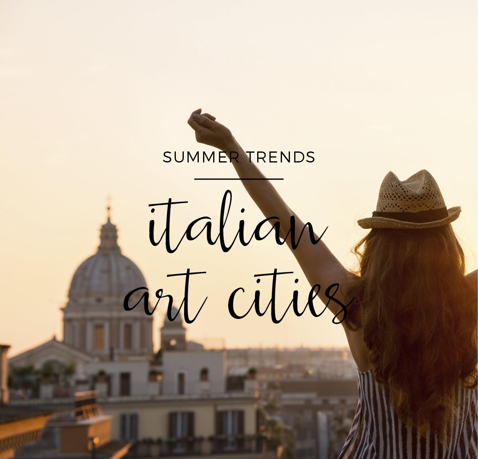 Las 3 ciudades italianas de arte más amadas de siempre: Florencia, Roma y Venecia