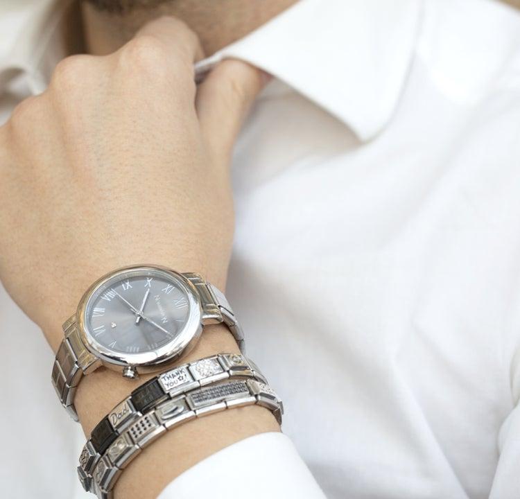Vatertag: Ein persönlich gestaltetes Armband, das von Ihnen erzählt
