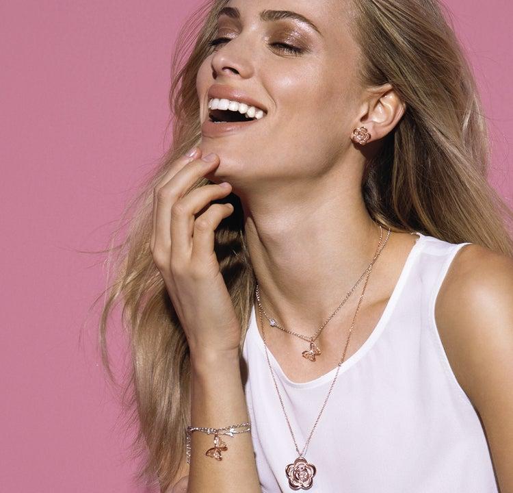 Collection Primavera : des bijoux en argent romantiques et féminins