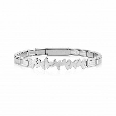 Trendsetter_Bracelet_with_Butterflies_in_Stainless_Steel_Bracelet_with_symbol