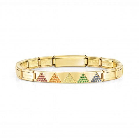 Trendsetter_Bracelet,Yellow,_coloured_Pyramids_Bracelet_for_Her_with_Cubic_Zirconia