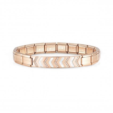 Rose_Trendsetter_bracelet,CZ_and_Mother_of_Pearl_Bracelet_for_Her_with_Mother_of_Pearl