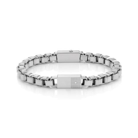 Style_Bracelet_in_Stainless_Steel_and_White_Zirconia_Bracelet_with_chain_in_stainless_steel