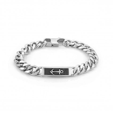 Instinct_Marina_Bracelet_with_Anchor_Stainless_steel_bracelet_with_symbol