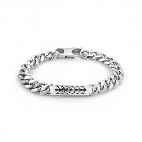 Bracelet_Instinct_Marina_avec_Corde_Bracelet_en_Acier_avec_Plaque