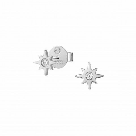 Stardust_earrings_North_Star_Stainless_Steel_earrings_with_North_Star