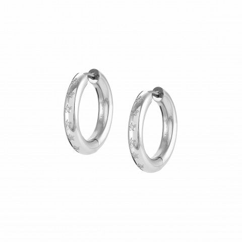 Infinito_earrings_in_steel_and_Cubic_Zirconia_Earrings_with_Cubic_Zirconia