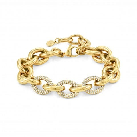 Affinity_bracelet,_white_crystals_Bracelet,_decorated_chain