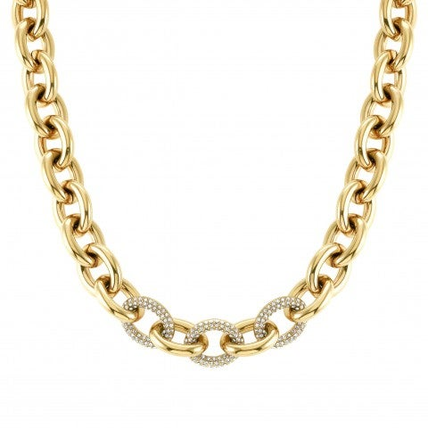 Affinity_chain_necklace_Necklace_with_white_crystals