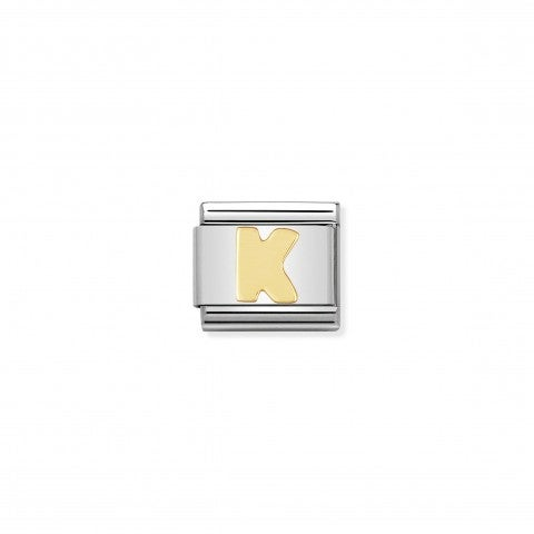 Composable_Classic_Link_Letter_K_in_18K_Gold_Alphabet_Letter_K_in_stainless_steel