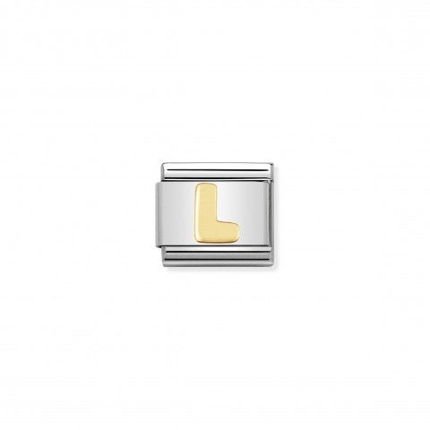 Composable_Classic_Link_Letter_L_in_18K_Gold_Stainless_steel_Letter_L_Link_in_18K_gold