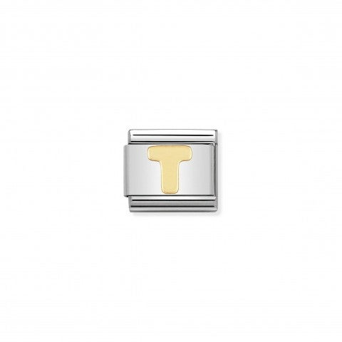 Composable_Classic_Link_Letter_T_in_18K_Gold_Alphabet_Letter_T_in_stainless_steel