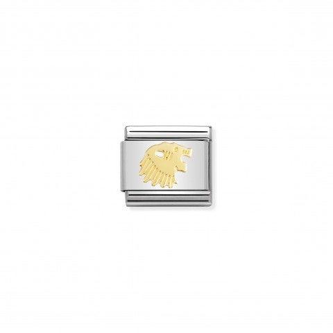 Link_Composable_Classic_in_Oro_Leone_Link_in_Oro_750_con_Simboli_Zodiaco