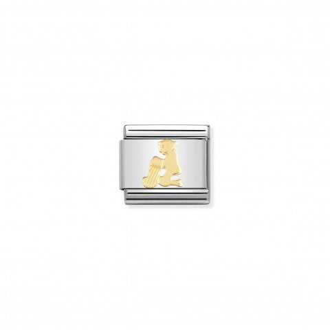 Composable_Classic_Link_Aquarius_in_18K_Gold_Stainless_steel_Aquarius_Link_in_18K_gold