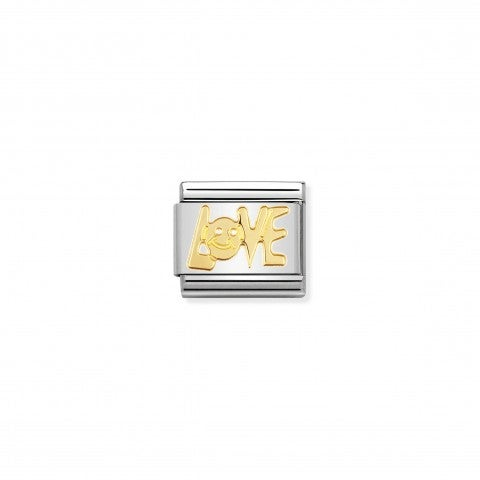 Composable_Classic_Link_LOVE_in_18K_Gold_18k_gold_Link_with_LOVE_Writing_in_stainless_steel
