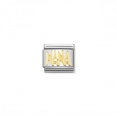 Composable_Classic_Link_NANA_in_18K_Gold_18k_gold_Link_with_NANA_Writing_in_stainless_steel