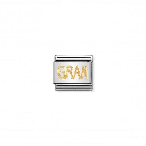 Link_Composable_Classic_in_Oro_GRAN_Link_in_Acciaio_con_Messaggi_La_mia_Famiglia_in_Oro_750