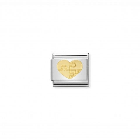 Composable_Classic_Link_Heart_with_Puzzle_Love_Link_in_18K_gold_with_Heart_with_Puzzle