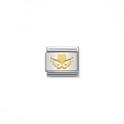 Link_Composable_Classic_Cuore_con_Ali_Link_Best_Seller_con_simbolo_Cuore_con_Ali