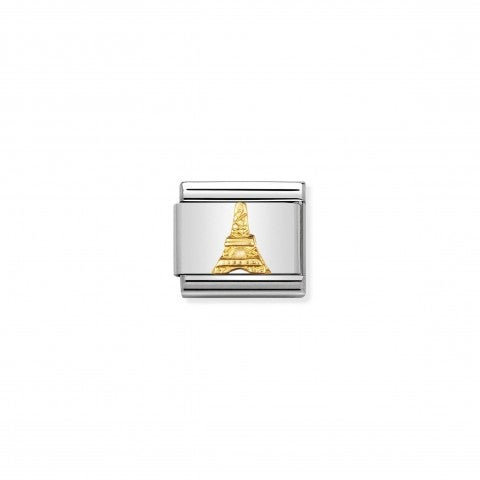 Link_Composable_Classic_Torre_Eiffel_Link_Best_Seller_con_simbolo_di_Parigi_in_Oro_750