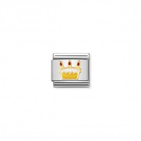 Link_Composable_Classic_Torta_di_Compleanno_Link_con_Simbolo_in_Oro_750_e_Smalto_Buon_Compleanno