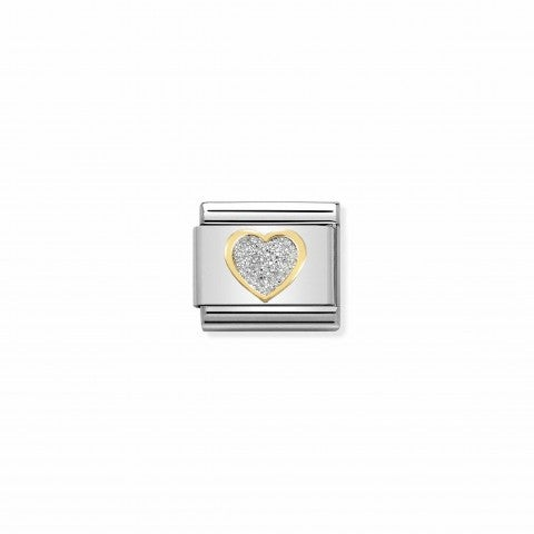 Composable_Classic_Link_Glitter_Heart_Link_with_heart_in_18K_gold