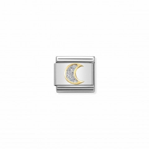 Composable_Classic_Link_Glitter_Moon_Link_with_symbol_in_enamel_and_yellow_gold