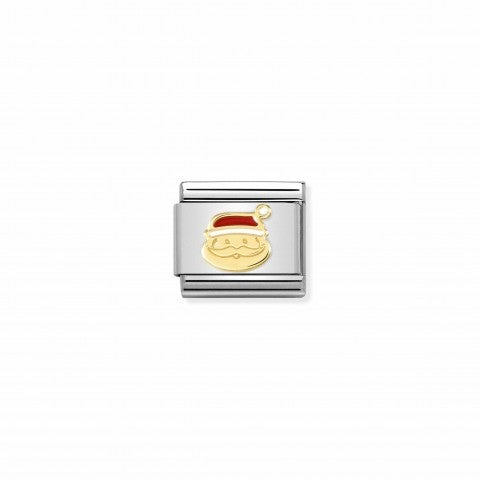 Link_Composable_Classic_Babbo_Natale_Link_con_simbolo_natalizio_in_oro_750_e_smalto