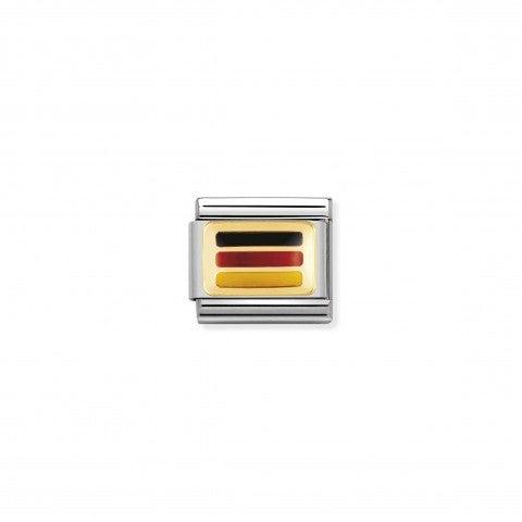 Link_Composable_Classic_Bandiera_Germania_Link_con_la_bandiera_della_Germania_in_Acciaio