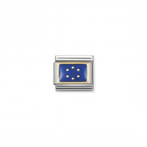 Link_Composable_Classic_Bandiera_Unione_Europea_Link_con_bandiera_dell'Unione_Europea_in_Acciaio