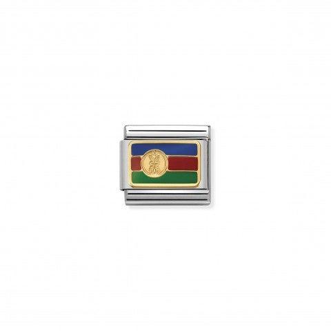 Link_Composable_Classic_Bandiera_Nuova_Caledonia_Link_con_la_bandiera_Nuova_Caledonia_in_Acciaio