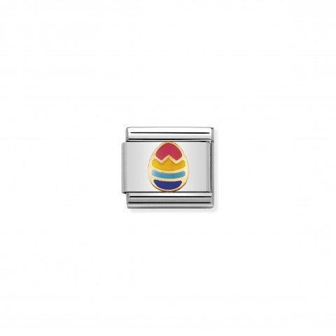 Link_Composable_Classic_Uovo_di_Pasqua_Link_in_Oro_e_Smalto_Simboli_pasquali