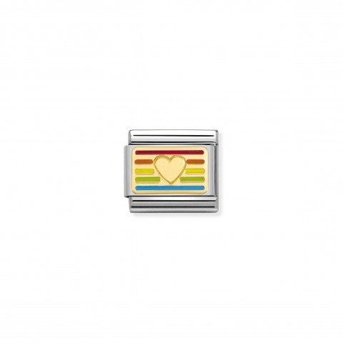 Composable_Classic_Link_Rainbow_Flag_Heart_Link_in_18K_yellow_gold
