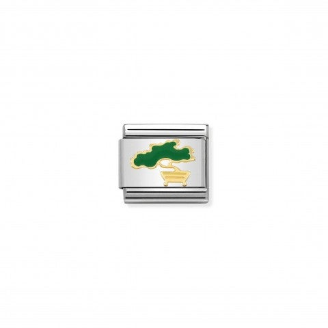 Composable_Classic_Bonsai_Link_Link_in_stainless_steel_with_plant_symbol