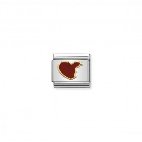 Composable_Classic_Link_Bitten_Heart_Link_in_18K_gold_and_enamel_Love_Gift