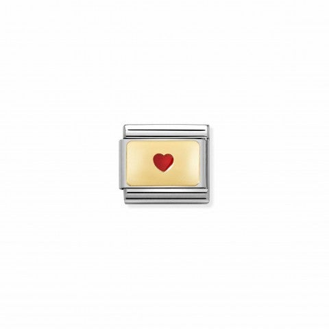 Composable_Classic_Link_Plate_Small_Red_Heart_Link_with_yellow_gold_Heart_and_Red_enamel