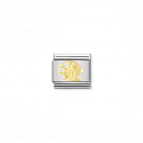 Link_Composable_Classic_con_Pietre_Ariete_Link_in_Oro_con_Cubic_Zirconia_Simboli_Zodiaco