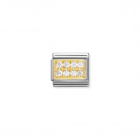 Link_Composable_Classic_Pietra_natale_Aprile_Link_in_Oro_750_e_Cubic_Zirconia_bianchi