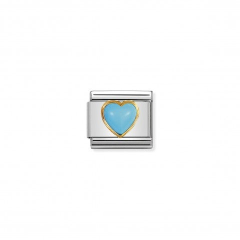 Composable_Classic_Link_December_Heart_Stone_Link_in_18K_gold_and_turquoise_with_Heart_symbol