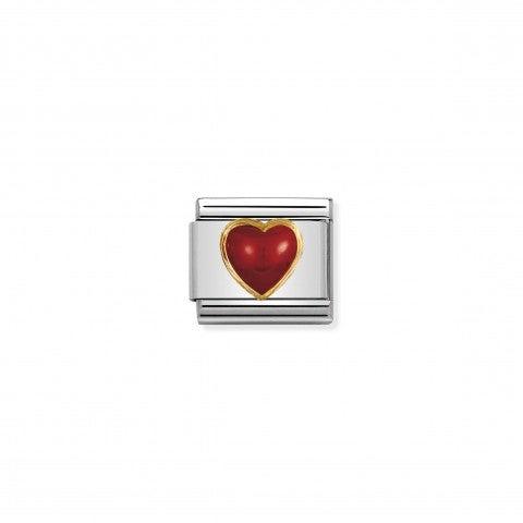 Link_Composable_Classic_cuore_con_corallo_rosso_Link_in_Oro_750_e_Pietra_naturale