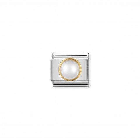 Composable_Classic_Link_in_gold_with_round_white_pearl_Link_in_18K_gold_with_round_and_natural_stone