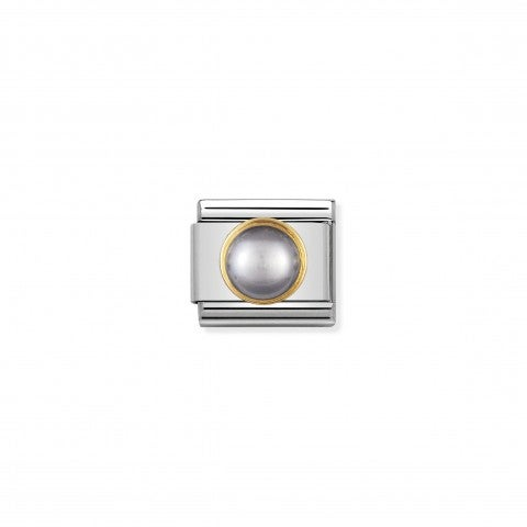 Composable_Classic_Link_in_gold_with_round_grey_pearl_Link_in_18K_gold_with_natural_hard_stone