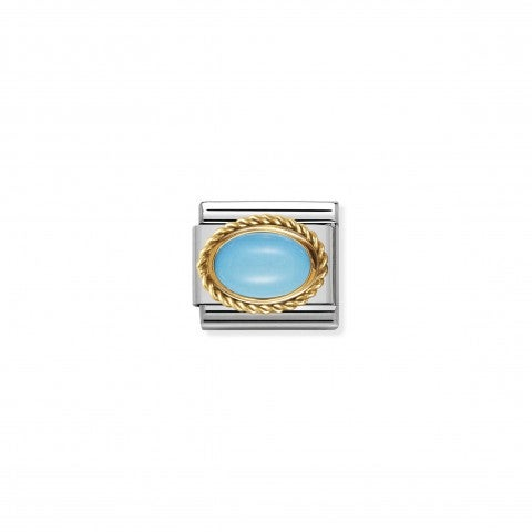 Composable_Classic_Link_with_oval_Turquoise_Link_in_18K_gold_with_oval_and_semiprecious_stone